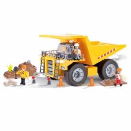 Set de construit camion basculant greu - Cobi