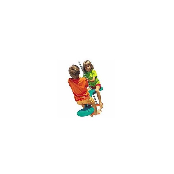 TP Toys - Leagan dublu Duo Ride Skyride Verde