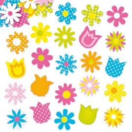 Floricele din spuma autoadezive - Baker Ross