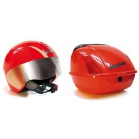 Peg-Perego - Casca VESPA HELMET + cutie accesorii