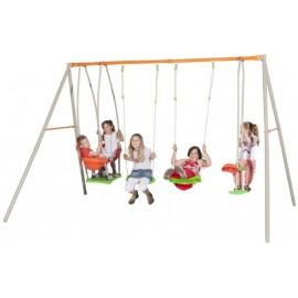 Complex de leagane Zet pentru 6 copii