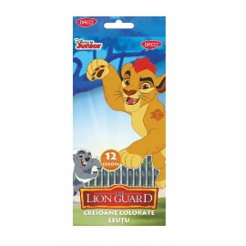 Creion color 12 culori LION GUARD