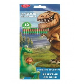 Creion color 12 culori GOOD DINOSAUR