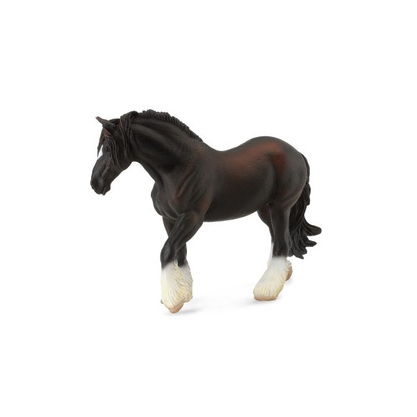 Figurina Cal Negru Shire XL COLLECTA