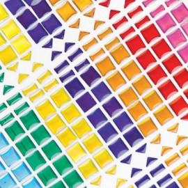 Mozaic autoadeziv colorat - Baker Ross