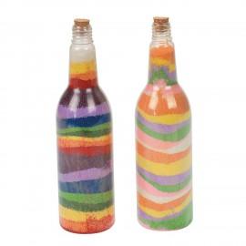 Mini recipiente pentru nisip colorat - Baker Ross
