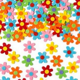 Flori autoadezive fetru - Baker Ross