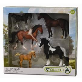 Set 5 figurine viata cailor