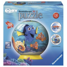 Puzzle 3d in cautarea lui dory 108 piese