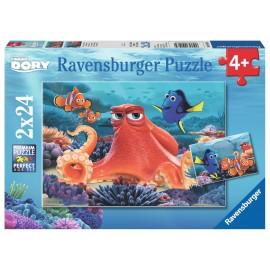 Puzzle in cautarea lui dory 2x24 piese