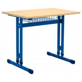 Banca scolara IN-R ajustabila mas 3-7 individuala albastra