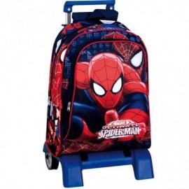 Ghiozdan Cu Troler Spiderman Eyes imagine