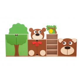 Set mobilier gradinita Teddy Ursuletul