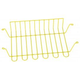 Cos metalic pentru banca scolara - galben