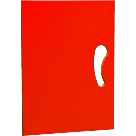 Usa rosie pentru dulapuri depozitare N si N2