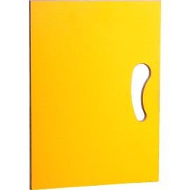 Usa galbena pentru dulapuri depozitare N si N2