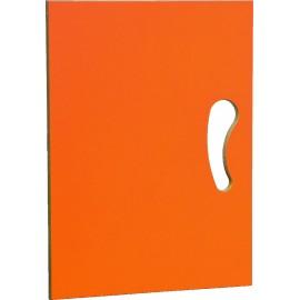 Usa portocalie pentru dulapuri depozitare N si N2