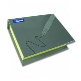 Bloc notes adeziv 250 file cu coperta cartonata - Milan