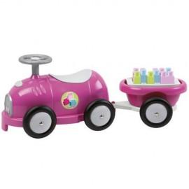 Trenulet cu Vagon si Cuburi Roz