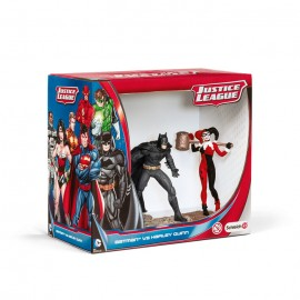 Figurina schleich batman vs harley quinn pack 22514