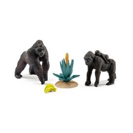 Familia de gorile schleich 42276