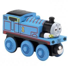 Learning Curve - Locomotiva Thomas din lemn cu lumini si sunete