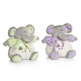 Plus Bebelusi Elefantel 15 cm cu zornaitoare (2 culori) - Artesavi