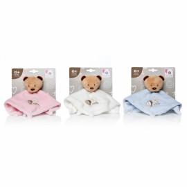 Plus Bebelusi Ursulet paturica 26 cm cu zornaitoare (3 culori) - Artesavi