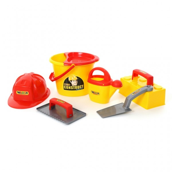 Set Micul constructor, 7 piese, Wader