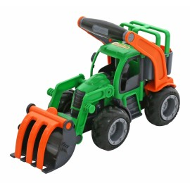 Tractor cu buldozer, Wader