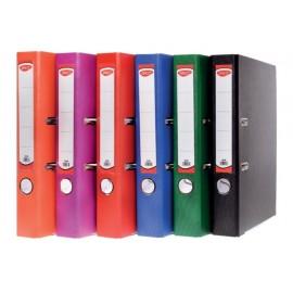 Biblioraft plastifiat 50 mm culori asortate