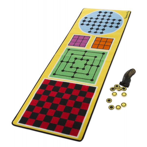Joc covoras 4 in 1 - Melissa and Doug