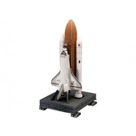 4736 space shuttle discovery + booster rockets