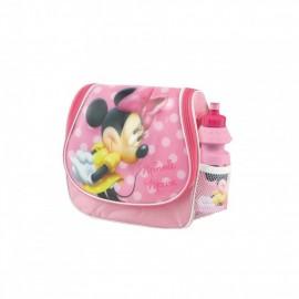 Ghiozdan gradinita Minnie Mouse BBS 121103 tip gentuta cu licenta si sticluta apa inclusa