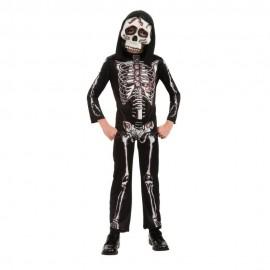 Costum de carnaval - schelet infricosator