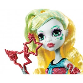Papusa Lagoona Blue cu masca - Monster High