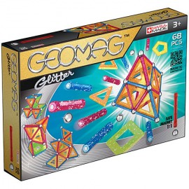 Geomag Glitter - Set magnetic 68 piese