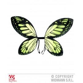 Aripi fluture negru-verde