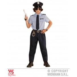 Costum politist copil - marimea 140 cm