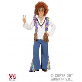Costum hippie - marimea 140 cm