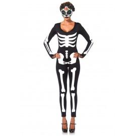 Costum schelet salopeta - marimea 128 cm