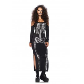 Costum schelet rochie