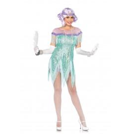 Costum anii 20 flirt - marimea 158 cm