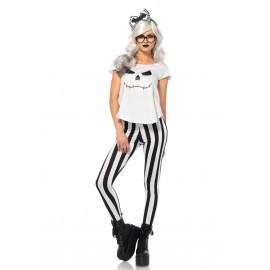 Costum schelet hipster - marimea 140 cm