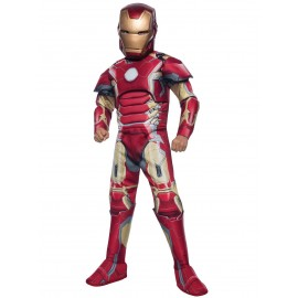 Costum avengers iron-man copil