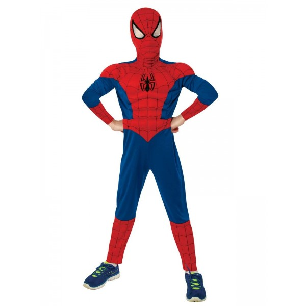 Costum spider-man muschi copil