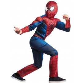 Costum spider-man 2 deluxe copil