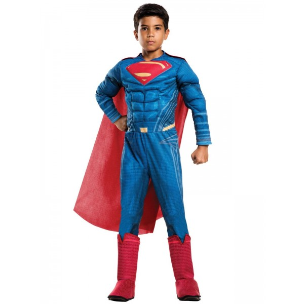 Costum superman deluxe copil