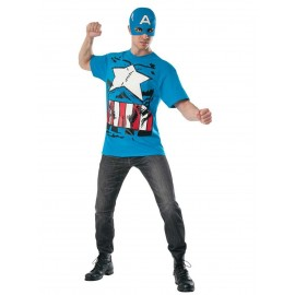 Costum marvel captain america clasic adult