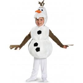 Costum frozen olaf clasic - marimea 128 cm